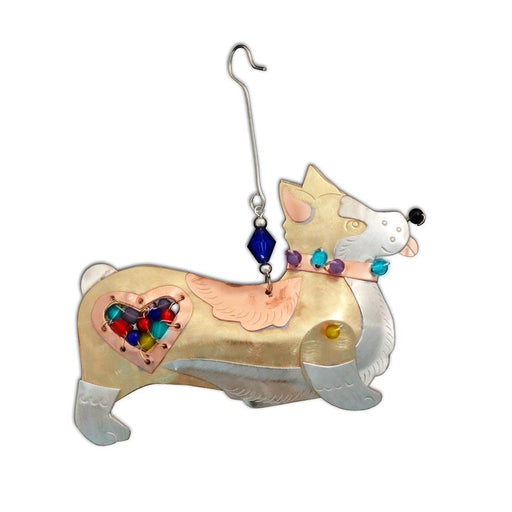 Duchess the Corgi Ornament