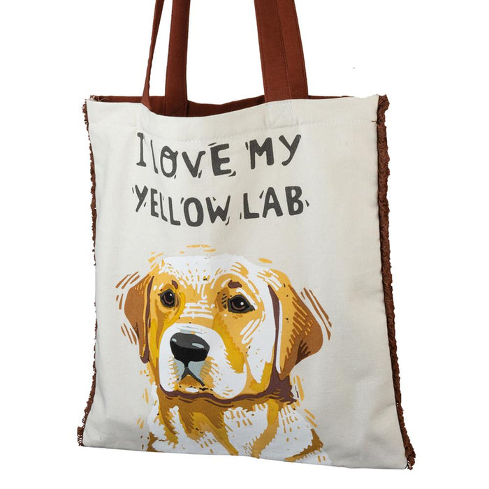 I Love My Yellow Labrador Tote