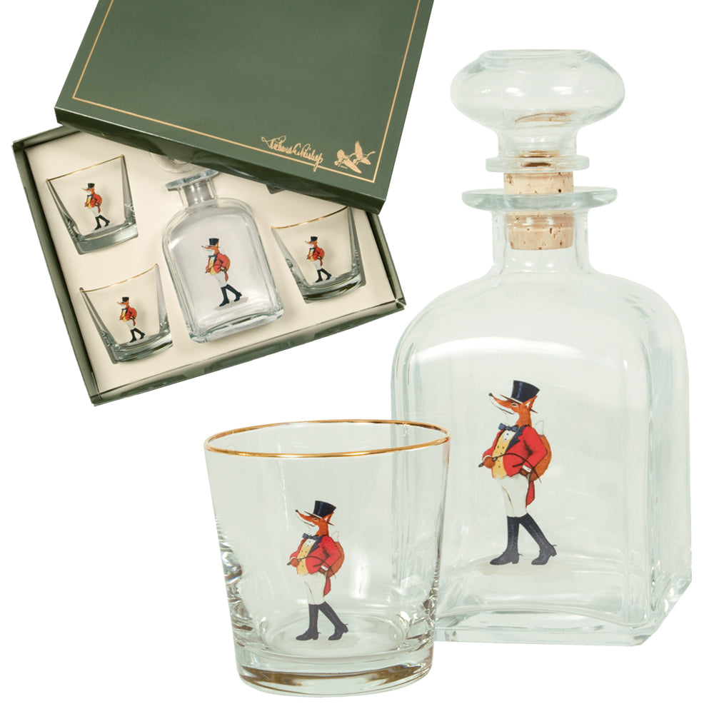 Snooty Fox Decanter Set