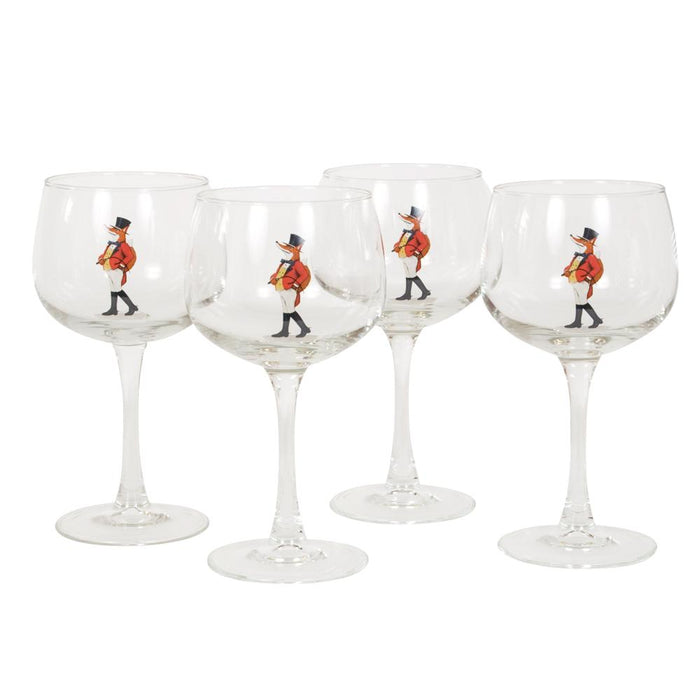 Snooty Fox Wine Glass (set of 4)