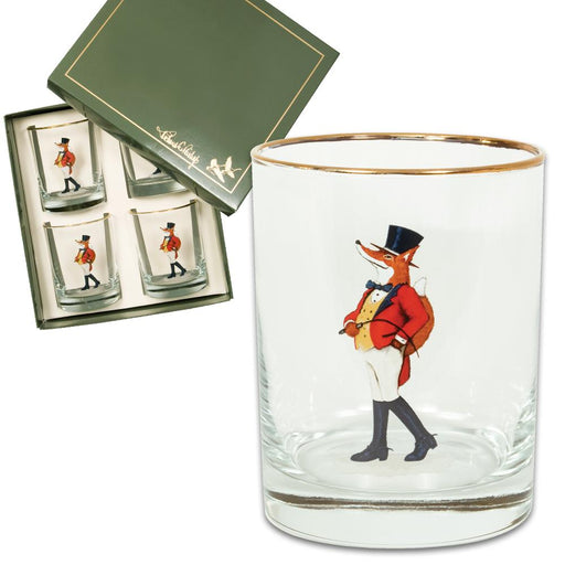 Snooty Fox Double Old Fashion Glass (set of 4)