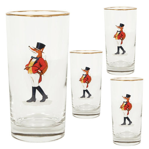 Snooty Fox Highball Glass (set of 4)
