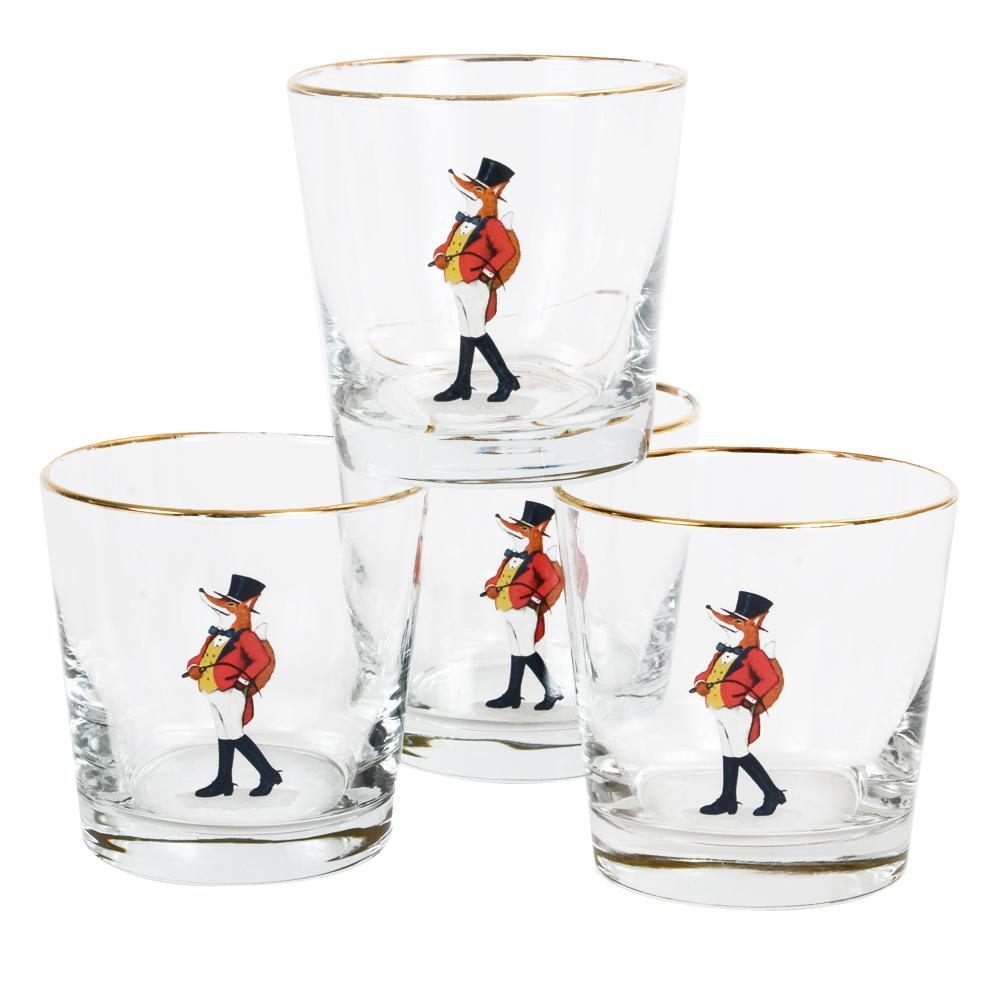 Snooty Fox Tapered Old Fashioned (set of 4)