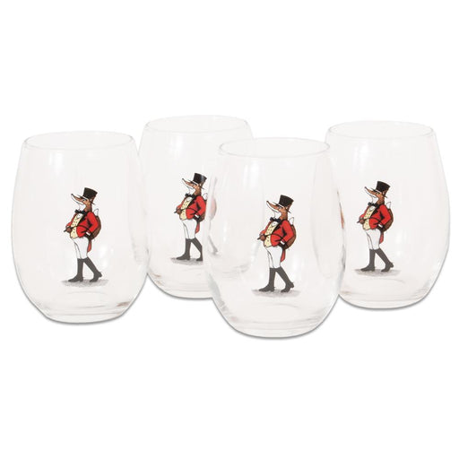 Snooty Fox Stemless Wine Glass (set of 4)
