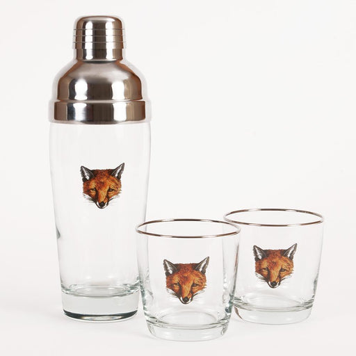 Fox Mask Cocktail Shaker Set