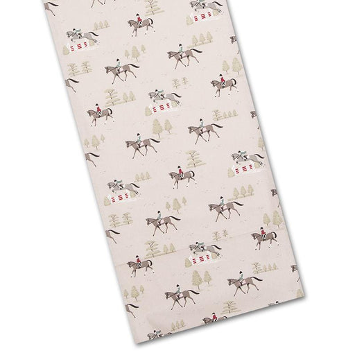 Bridlepath Horses Cotton Table Runner by Sophie Allport