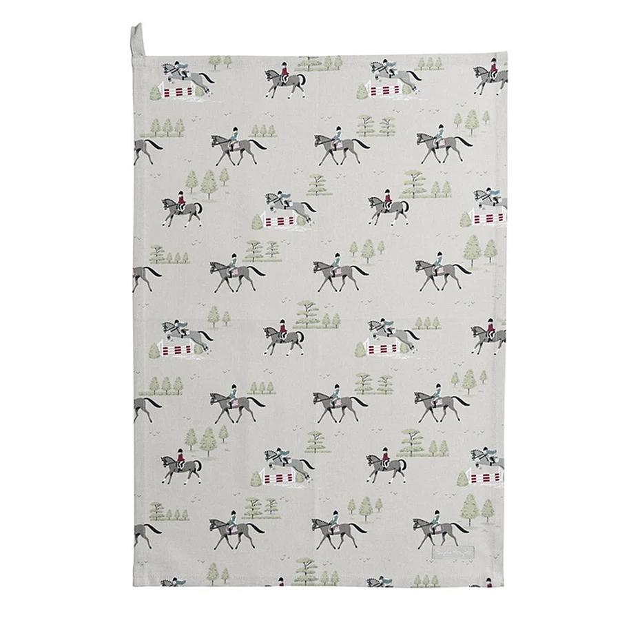 Bridlepath Horse Kitchen Towel by Sophie Allport