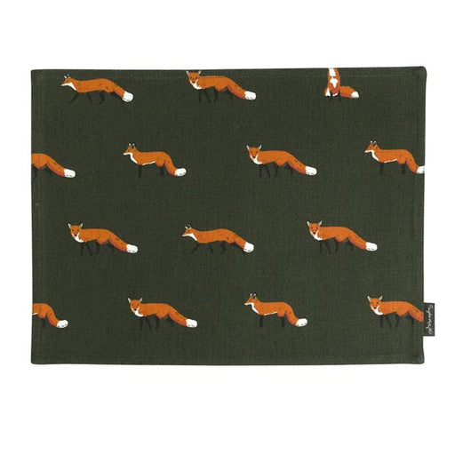 Foxy Fabric Placemat by Sophie Allport