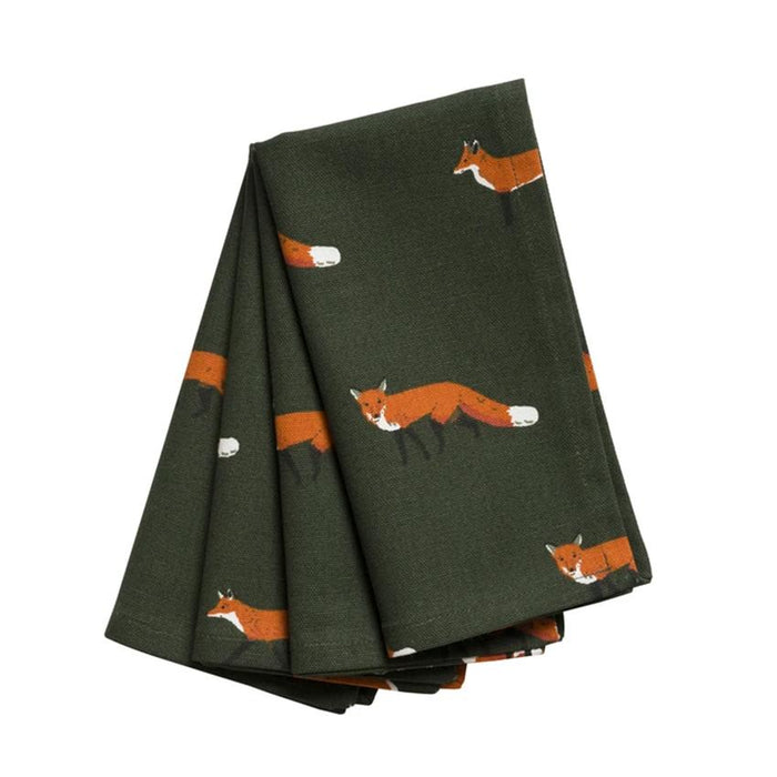 Foxy Fabric Napkins (set of 4) by Sophie Allport