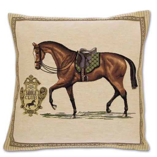 Saddle Club Tapestry Pillow