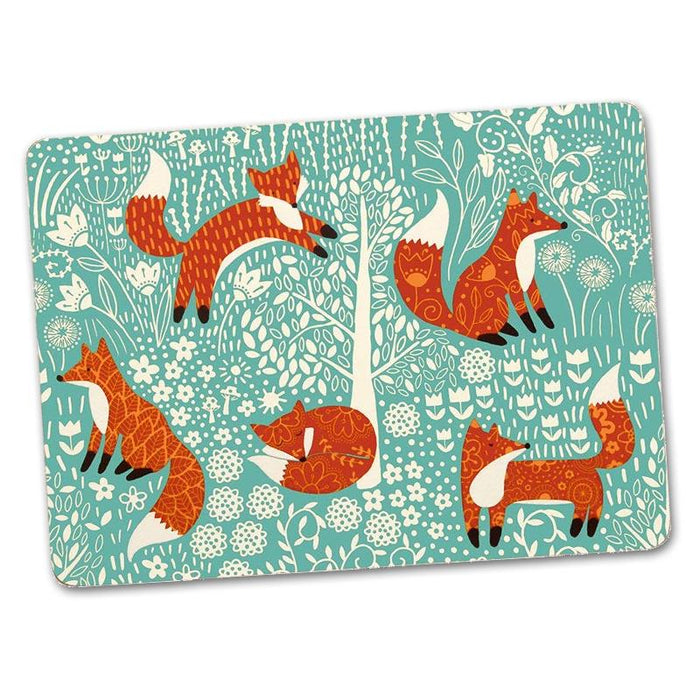Foraging Fox Hardback Luncheon Placemats - Set of 4