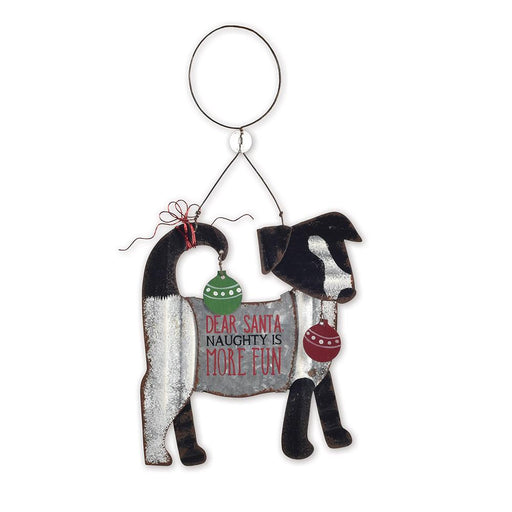 Dear Santa Dog Christmas Ornament