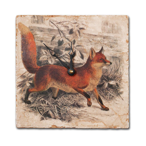 Vintage Fox Wall Clock