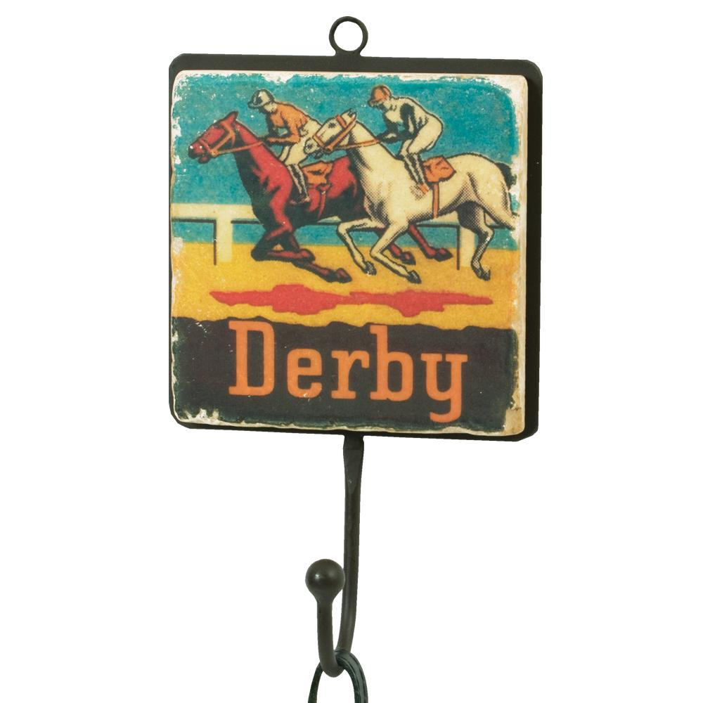 Derby Horse Race Wall Hook
