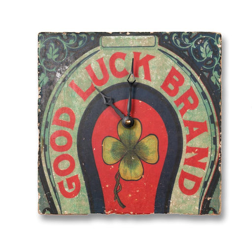 Good Luck Horseshoe Wall Clock