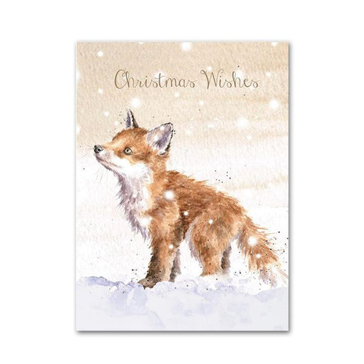 Snowflakes - Fox Christmas Cards