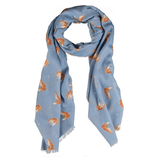 Fox Scarf - The Artful Poacher by Wrendale