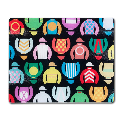 Jockey Silks Cutting Board