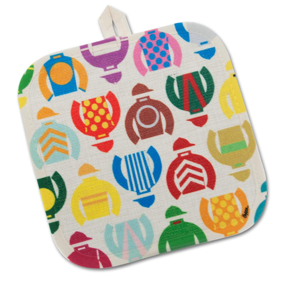 Jockey Silks Heat Resistant Potholder