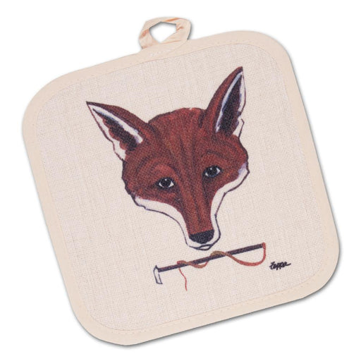Fox Mask Heat Resistant Potholder