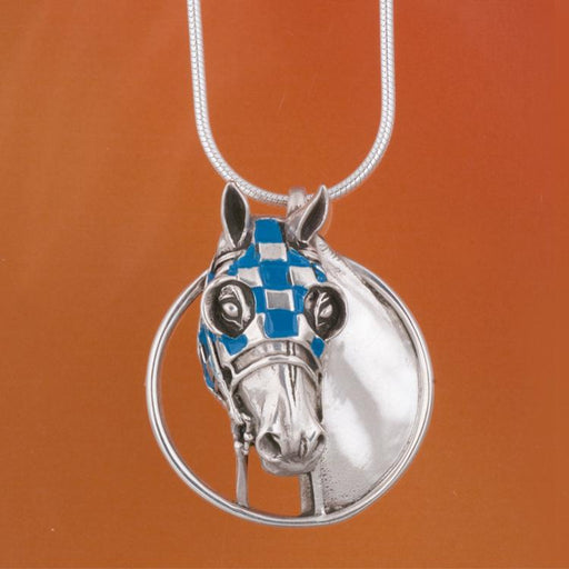 Secretariat Enameled Pendant - Large by Jane Heart