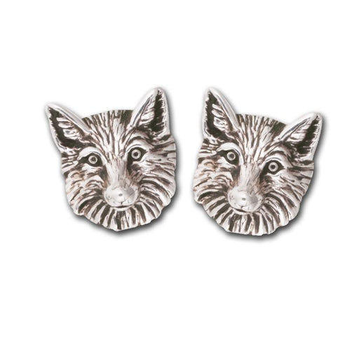 Fox Silver Post Earrings by Jane Heart