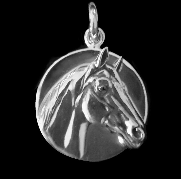 Man o' War Sterling Charm