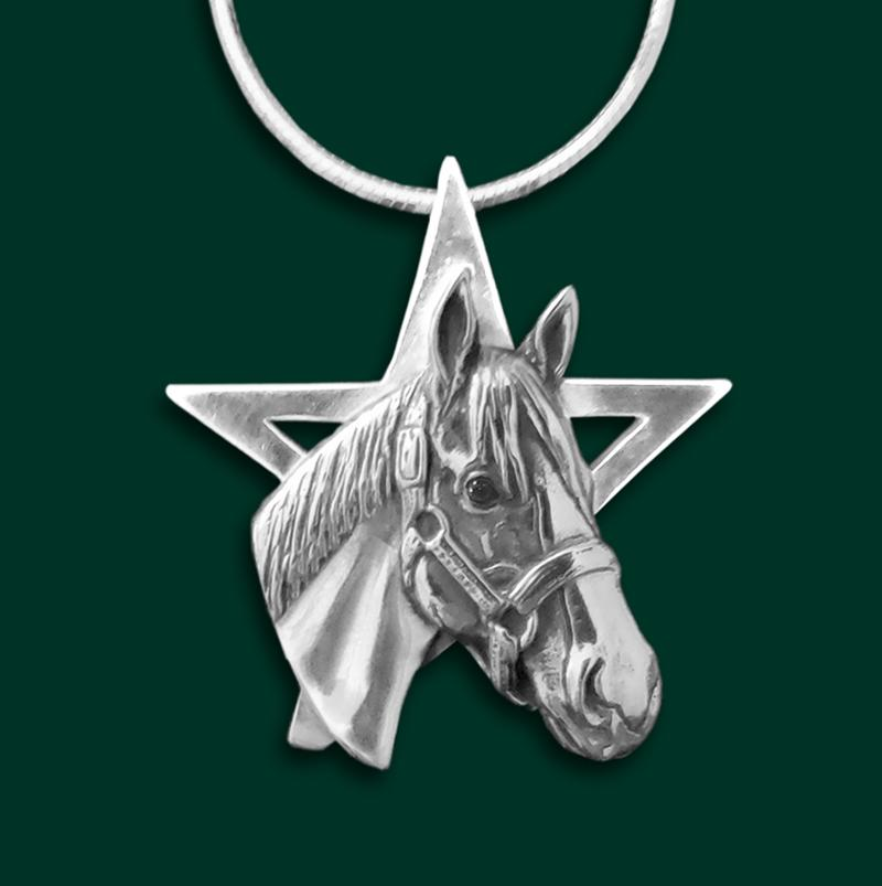 Justify Star Pendant, Large - by Jane Heart