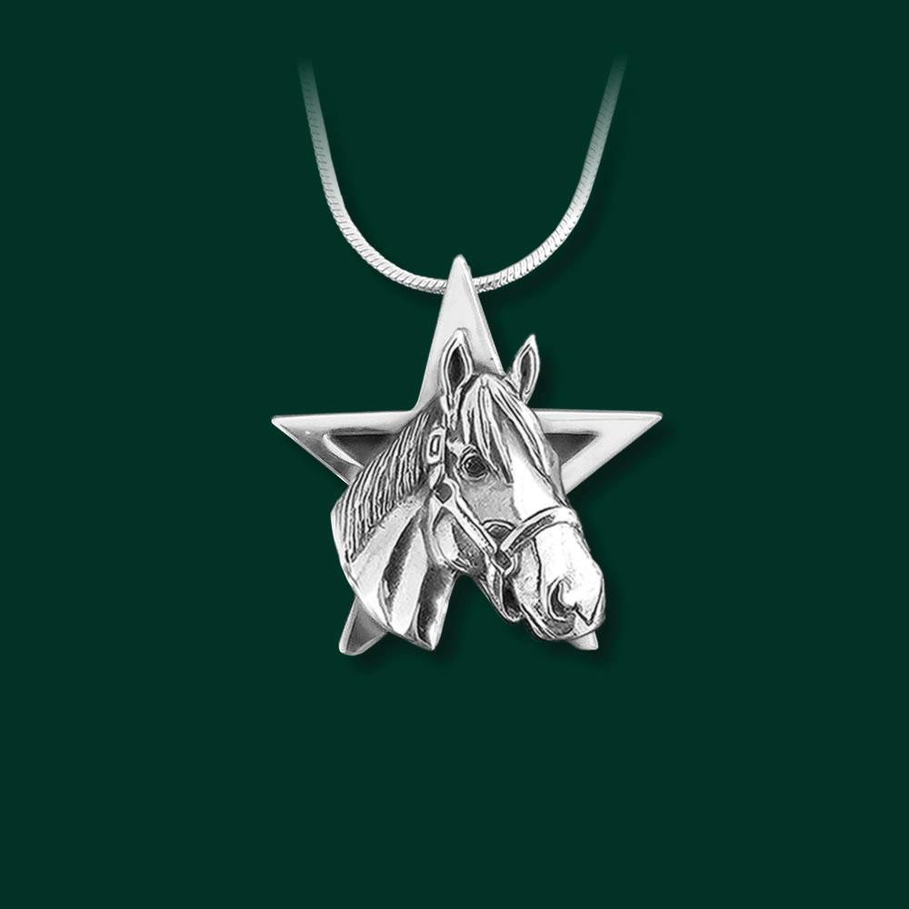 Justify Star Pendant, Smalll - by Jane Heart