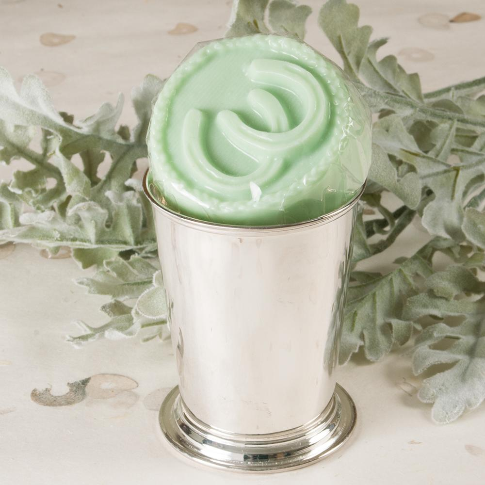 Mint Julep Horseshoe Guest Soap
