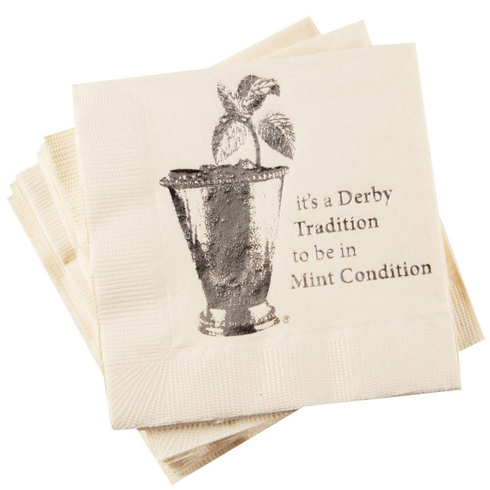 Derby Tradition to be in Mint Condition - Paper Beverage Napkins - Pkg/16