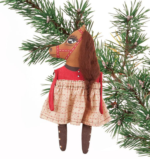 Miss Nellie Horse Ornament