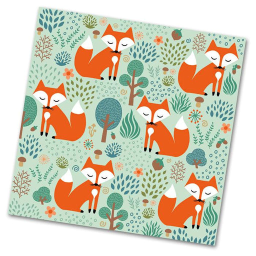 Smart Fox Luncheon Napkins