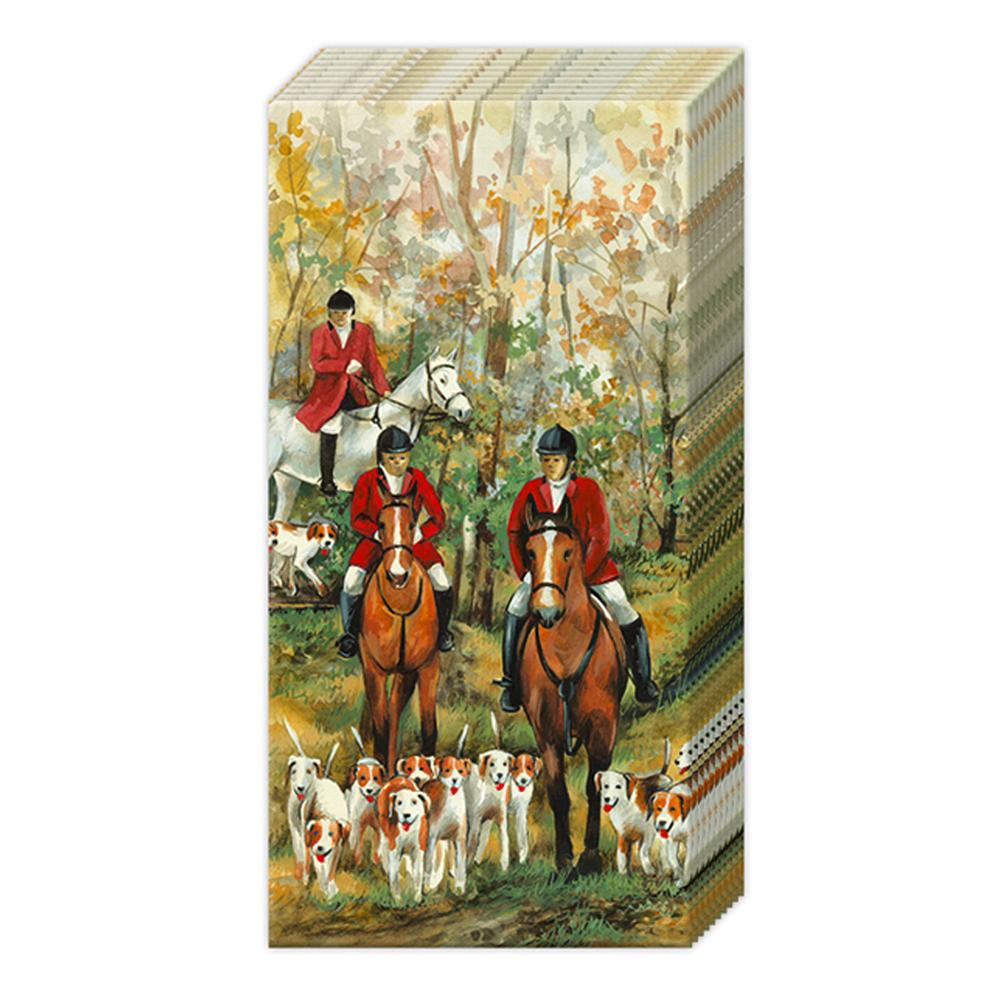Foxhunt Season Pocket Tissues