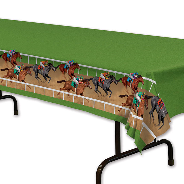 Racehorse Plastic Tablecover