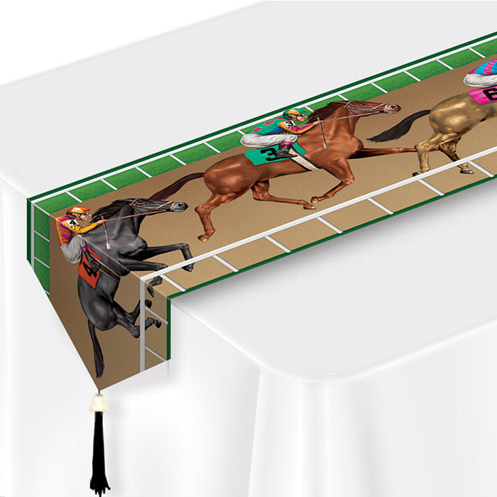 Racehorse Plastic Table Runner