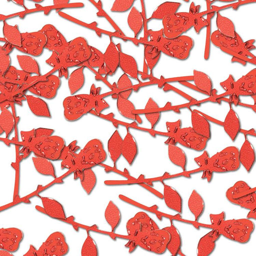 Kentucky Derby Red Roses Confetti