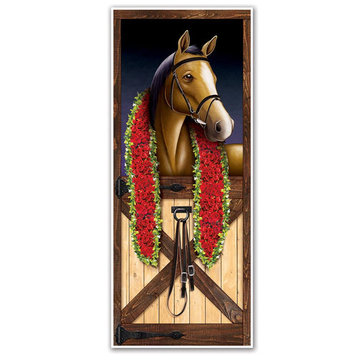 Kentucky Derby Party Racehorse Door Decoration