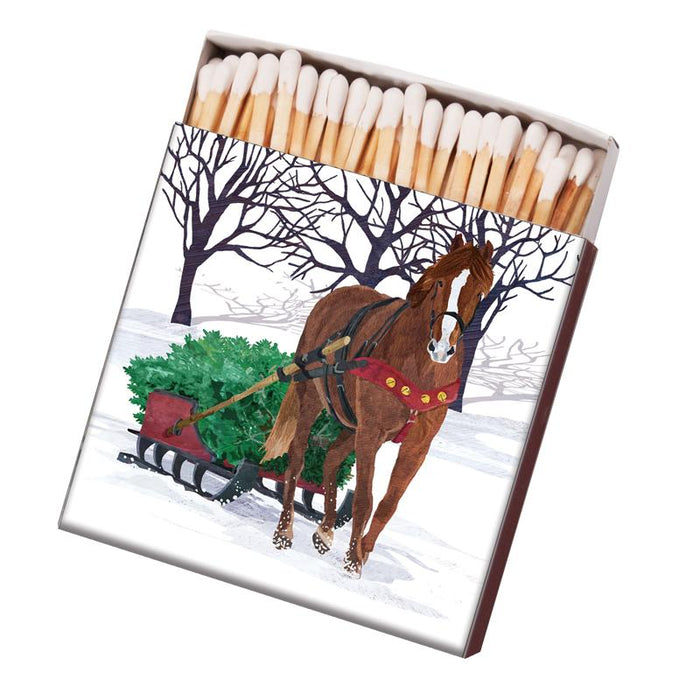 Horse Sleigh Kitchen Matches