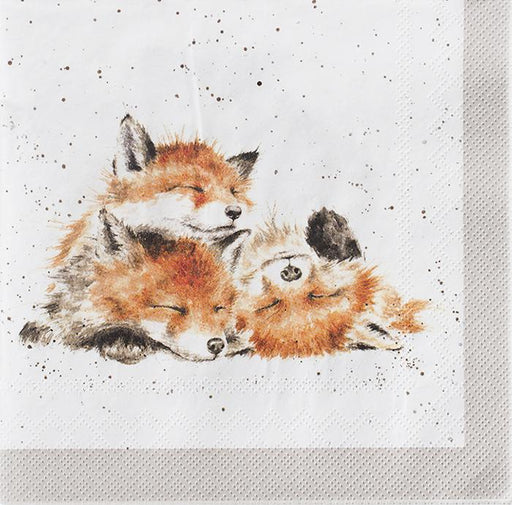 Afternoon Nap - Fox Paper Beverage Napkins