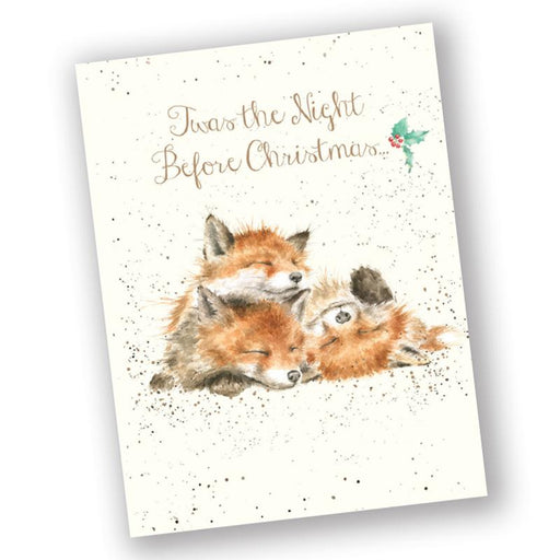 The Night Before Christmas - Fox Christmas Cards