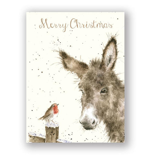 Seasons Bleatings - Donkey Christmas Cards