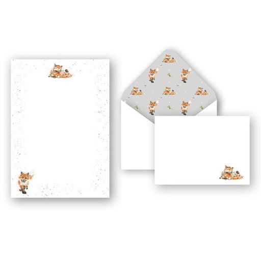 Fox Stationery Set - Afternoon Nap by Wrendale