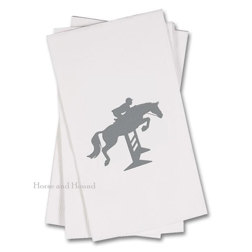 Silver Hunter Jumper Paper Guest Towels