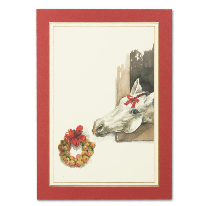 Nibble Horse Christmas Cards
