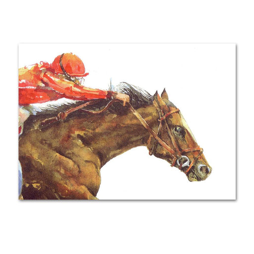 Horse Power Racehorse Note Cards