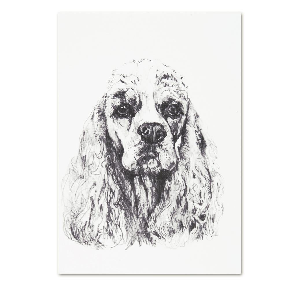 Cocker Spaniel Note Cards
