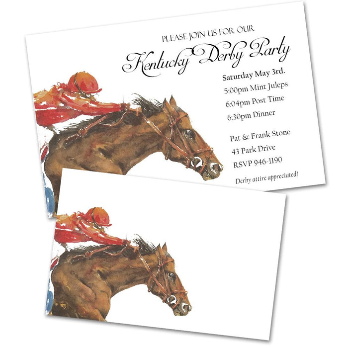 Horsepower x1 Party Invitations