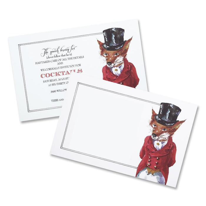 Clever Fellow - Fox Party Invitations