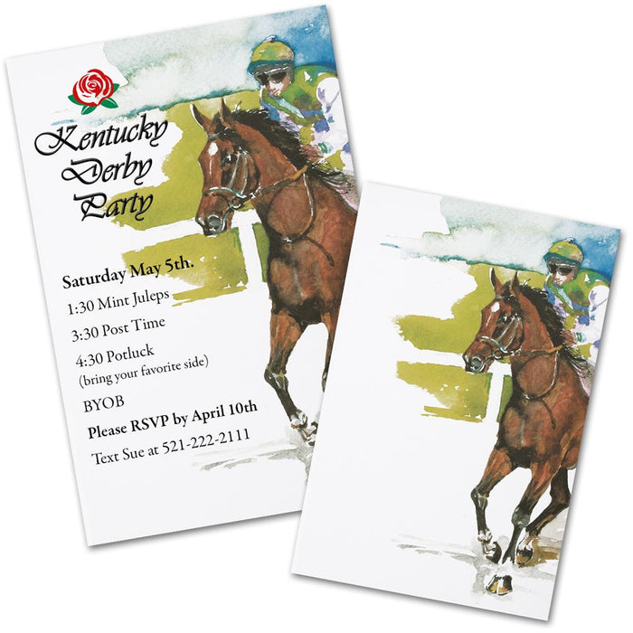 Gallop - Horse Racing Party Invitations